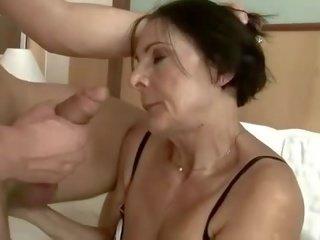 Randy old maid getting fucked hard